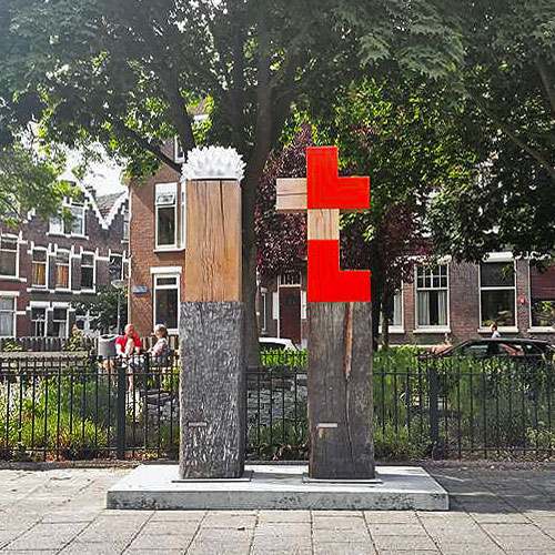 MONUMENT VOOR DE MOED EN DE LIEFDE