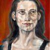 Portfolio Atelier DHVR | Sanne portret Olieverf